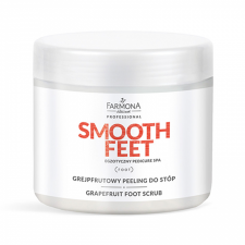 SMOOTH FEET Grejpfrutowy peeling do stóp 690g - FARMONA