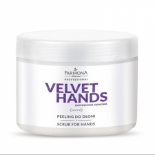 VELVET HANDS Peeling do dłoni  550g - FARMONA