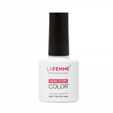 Matt Top Coat NO WIPE UV&LED 8g - LA FEMME