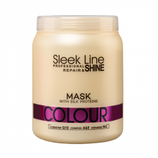 Maska z jedwabiem Sleek Line Colour 1000ml - STAPIZ
