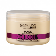 Maska z jedwabiem Sleek Line Colour 250ml - STAPIZ